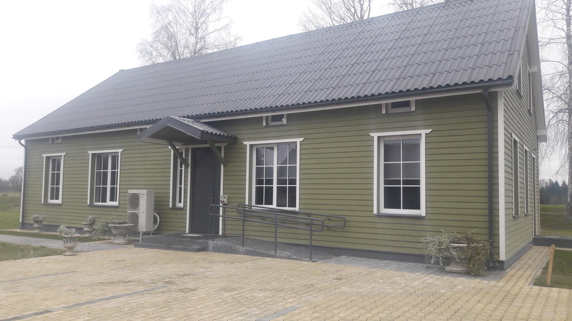 """Gorainių bendruomenės projektas """"Gorainių bendruomenės namų pastato sutvarkymas"""""""