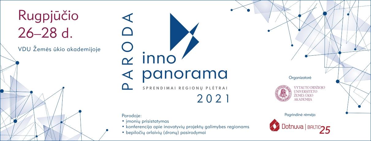 """Žemės ūkio inovacijų paroda """"Inno panorama 2021"""""""